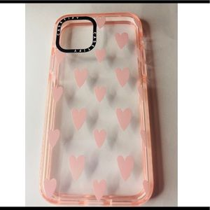 Casetify IPhone 11 Pro Baby Pink Hearts Case